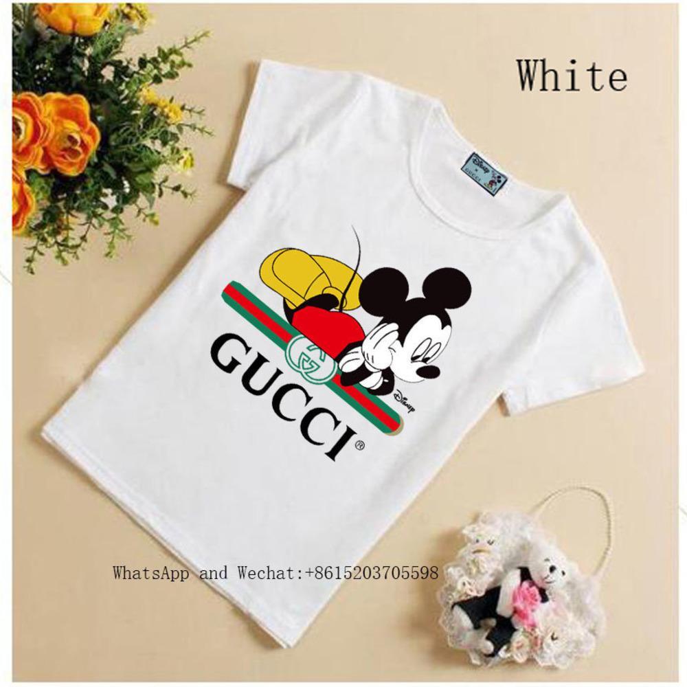 Estate camicette carino T-shirt in cotone sottile manica corta di alta qualità dei ragazzi delle magliette 031606