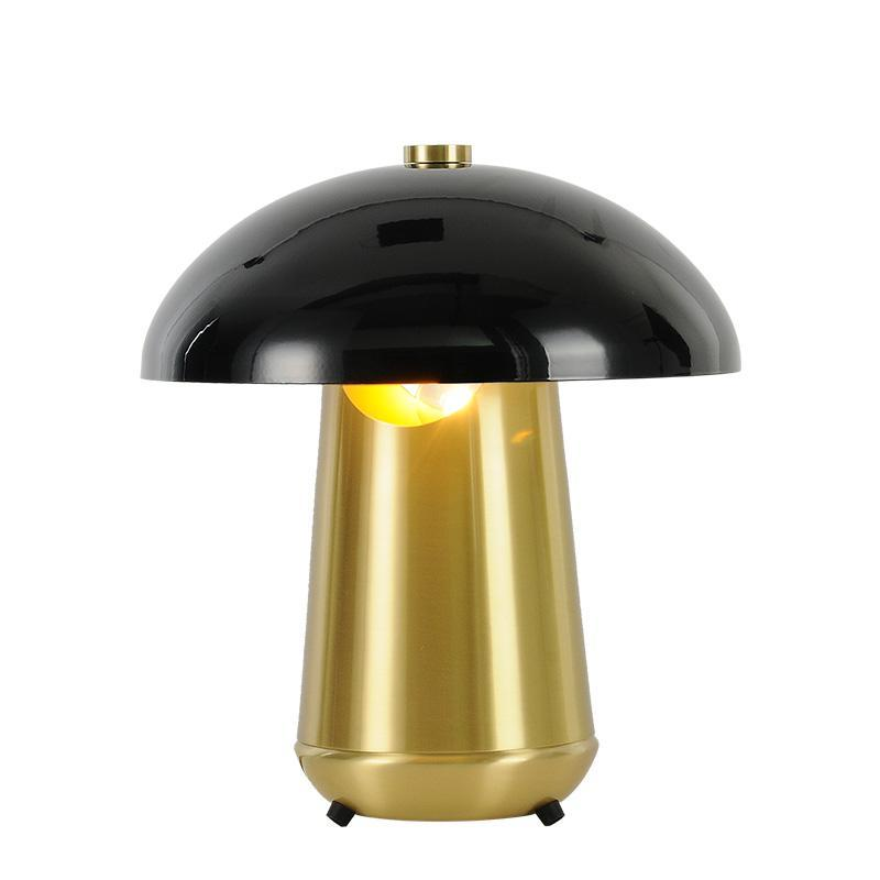 Tavolo moderno Nordic Light Retro Desk Lamp E27 Loft per camera da letto al lato della lampada d'oro apparecchio nero