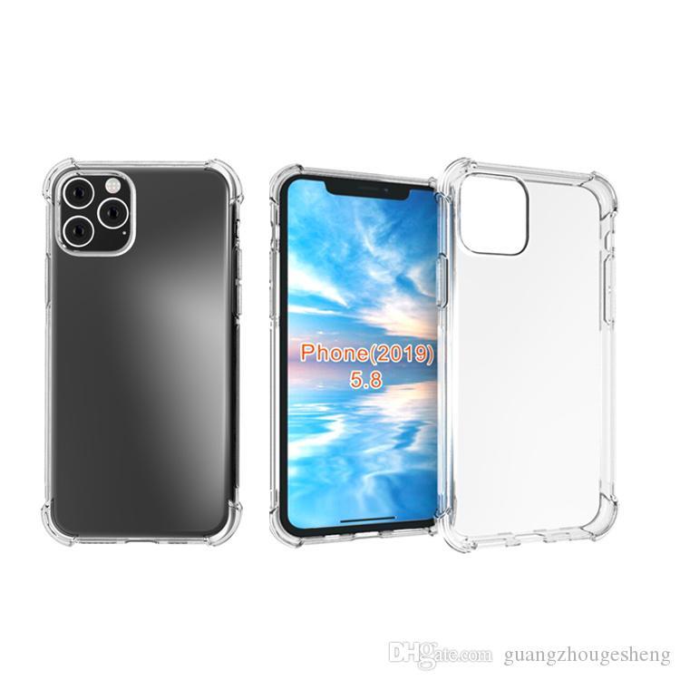 Fur Iphone 11 Pro 2019 Stossfest Klar Weiches Gel Tpu Zuruck Handy Abdeckung Case New Release Grosshandel Von Guangzhougesheng 92 47 De Dhgate Com