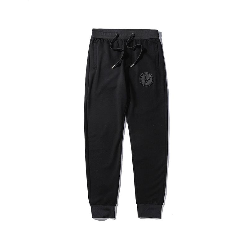 New Arrival Mens stylist Pants Mens High Quality Embroidery Trousers Men Women High Street Fashion Black Jogger Pants
