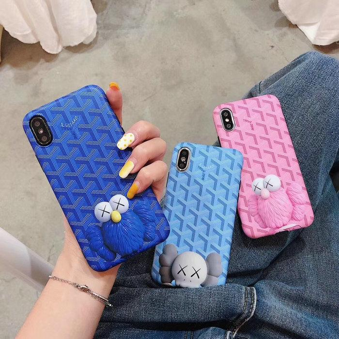 2019 new cartoon geometric pattern mobile phone case shell for iphone Xs max Xr X 7 7plus 8 8plus 6 6plus back cover