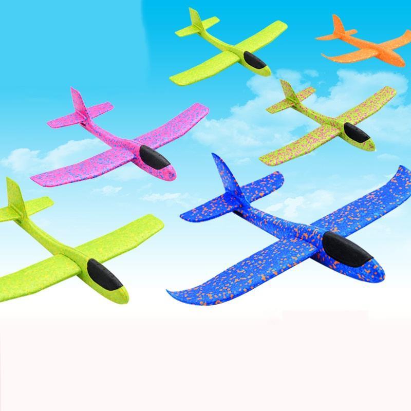 Parti Favor 48 cm Büyük Çocuk Epp Köpük El Atmak Uçak Açık Başlatma Planör Uçak Çocuk Hediye Oyuncak Ilginç Oyuncaklar Bırak