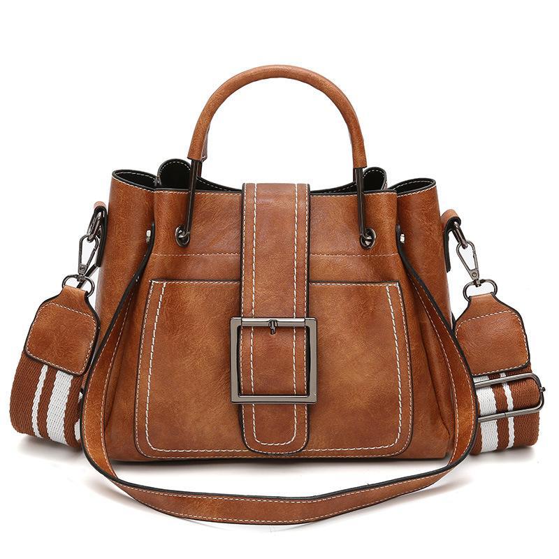 حقائب اليد الفاخرة حقائب الكتف بو الجلود سعة كبيرة النساء حقائب عالية الجودة السيدات أكياس جلدية ناعمة