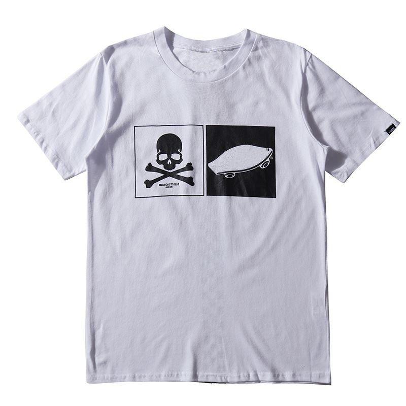 Ünlü Yeni Erkek T Shirt Mens Nefes Pamuk Kısa Kollu Erkek Kadın Hip Hop Tişörtlü Tees Siyah Beyaz 2 Renkler
