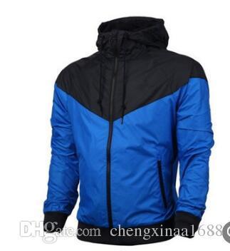 2019 Men's jacket jacket sweater hoodie long sleeve spring sports zipper trench coat men's plat hoodie