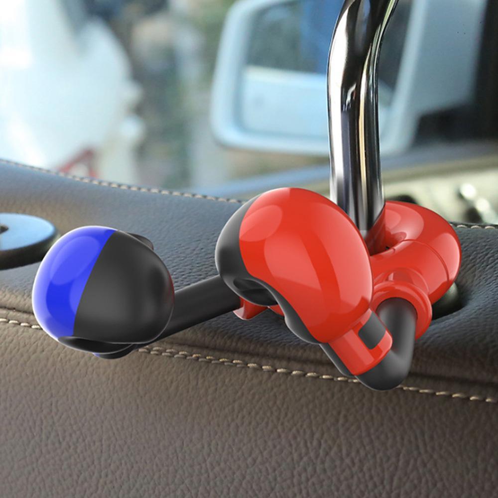Multi-função Car Boxing Gancho banco traseiro escondida gancho de suspensão