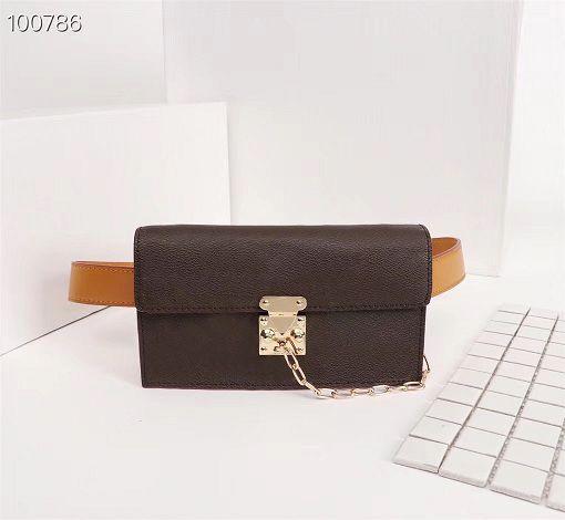 Original de alta qualidade Designer de luxo Bolsas Bolsas DAUPHINE Pockets Bag Mulheres Bolsa Marca Crossbody Saco de couro genuíno Bolsas de Ombro