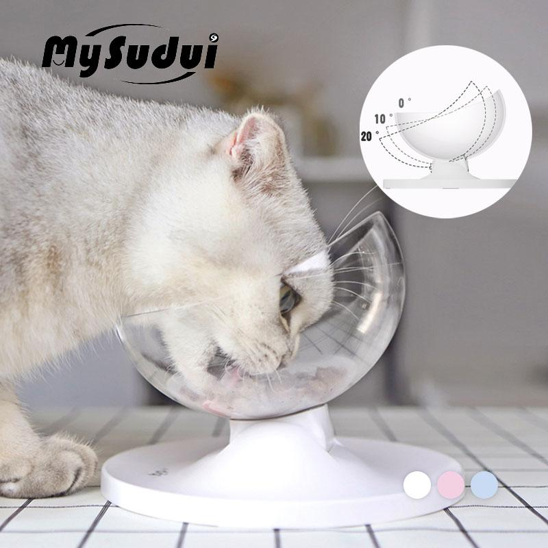 MySudui Anti-Slip Cats Bowl For Dogs Pet Dispearable Cat Water Displayer Cats Bowls Feeders Mascotas Dla Psa