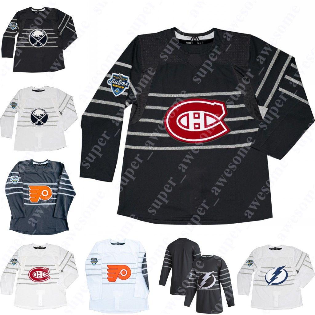 2020 All Star Jersey Buffalo Sabrers Jack Eichel Tampa Bay Lightning Victor Hedman Montreal Canadiens Shea Weber Philadelphia volantini Konecny