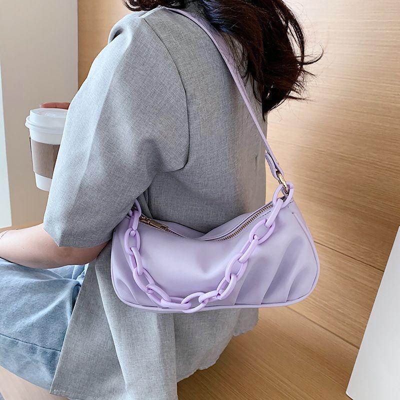 Новое облако Форма женской дня сцепления сумка плиссированных Клецки плечо Сумка Small Cute Lady Crossbody