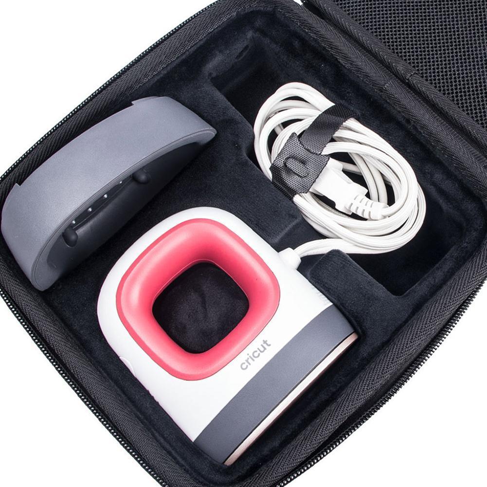 EVA dur Housse de transport Sac de stockage portable pour Cricut EASYPRESS Mini Heat Machine de presse Base de Voyage de protection Housse de protection