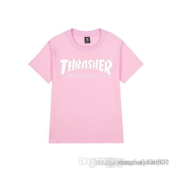 2018 новый европейский и Американский с короткими рукавами ситец обычный подросток мужская футболка-Хай-стрит модные уличная хлопок короткий-рукавами t-