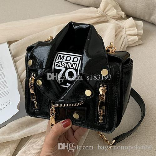 Women shoulder bags women chain bags crossbody bag fashion Black handbags female purse bag 2018 Lapel jacket Designer handbag