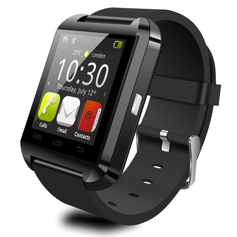 2020-New U8 SmartWatch Bluetooth Smart Watch Wristwatch Smartwatch With Sleep Monitor Remote Camera Pedometer For Andriod IOS Smartphone