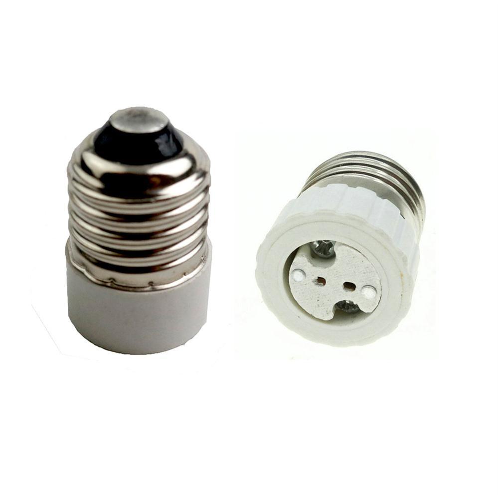 Suporte da lâmpada conversor adaptador E27 para suporte da lâmpada MR16 E27 LED Lâmpada Luz Adapter Screw soquete E27 para GU5.3 G4 fácil de instalar