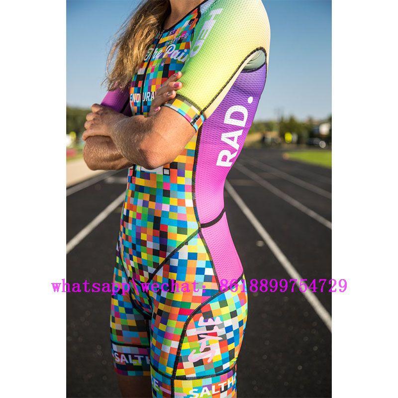 ركوب الدراجات دراجة فريق skinsuit المرأة السباقات الرياضية بذلة الملابس الترياتلون دراجة تشغيل روبا المايوه ciclismo موهير