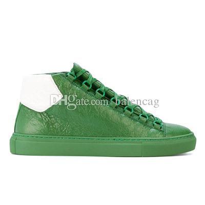 Livraison gratuite arena hommes en cuir baskets chaussures de luxe kayne baskets ouest Marque Hommes Baskets Hommes Marque Mode Chaussures