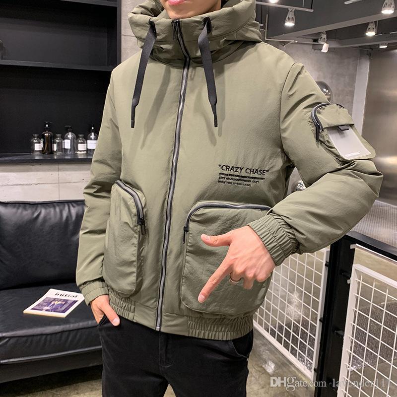 giacca invernale da uomo autunno e cotone lungo inverno nuovo vestiti di spessore giacca di cotone abbigliamento in cotone utensili da uomo maschile