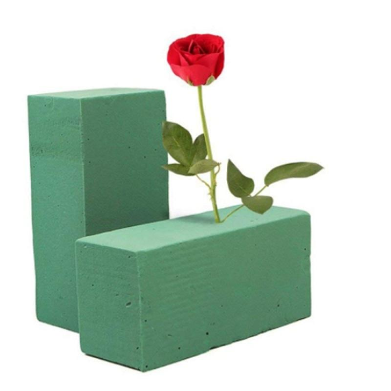 Blocchi di schiuma floreale, 10pcs fiore mattone fango fiorista forniture forma secca fiore titolare Oasis assorbimento d'acqua per la casa giardino Decor C18112601