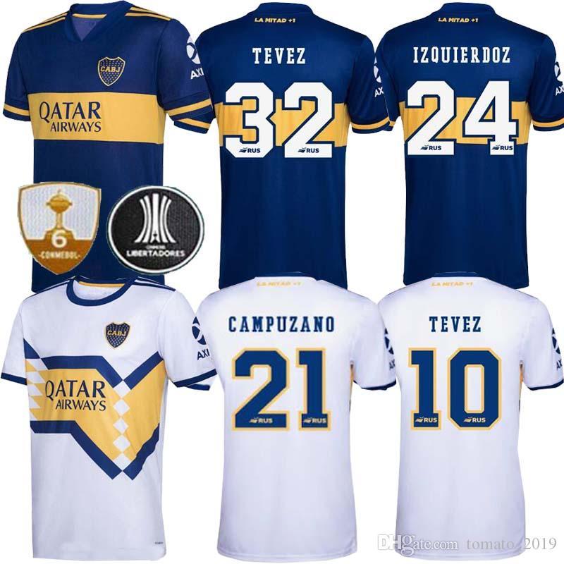 2020 2021 Boca Juniors Jersey Casa Fora 20 camisa de futebol esportes GAGO OSVALDO CARLITOS PEREZ DE ROSSI 21 Boca Juniors