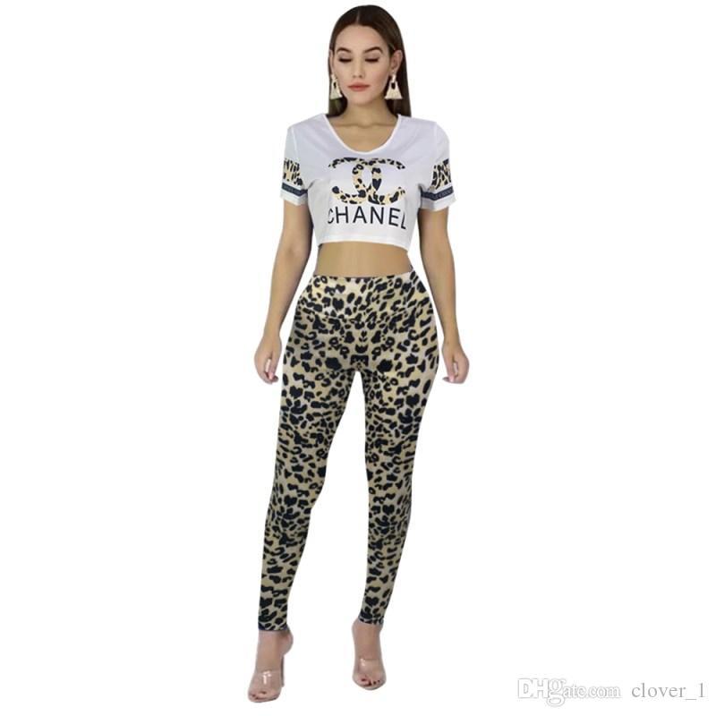 Kadınlar tasarımcı eşofman kısa kollu kıyafetler gömlek pantolon 2 parça set sıska gömlek tayt spor suit kazak pantolon sıcak klw1693
