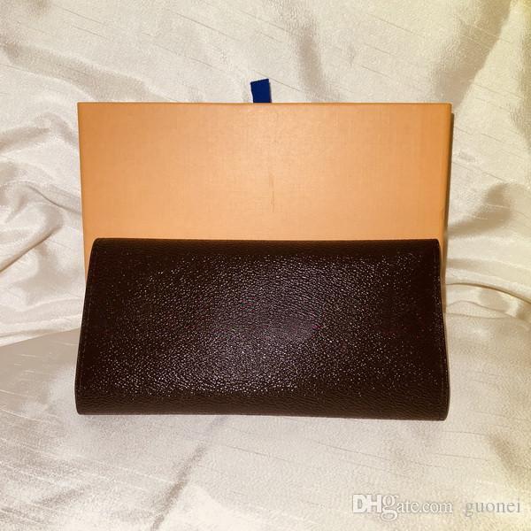 sacchetto di denaro vestito Designer- classico portafoglio standard di moda PU borsa lunga cerniera sacchetto della moneta nota tasca vano twin set portafoglio organizzatore