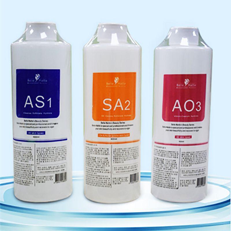 Prodotti di bellezza Soluzione di peeling aqua 400ml per bottiglia Aqua Facial Siero serio Hydra Siero del viso per la pelle normale