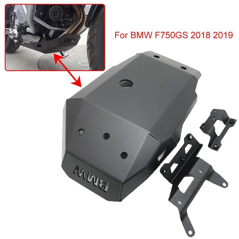F750GS Schutzplatte Motor Fahrwerk Schutz Schutz Ölwanne Schutz für 2020 2020 F 750 GS F750 GS 18 19 Motorrad