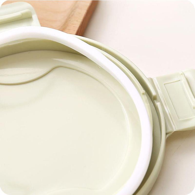 Mutfak Gıda Konteyner Mühür Pot Çay Kahve Şeker Depolama Tankı Plastik Hububat Snacks Box Çerez Kanister Kavanozları İçin Baharatlar 1000ml