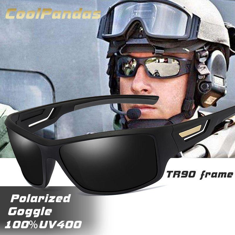 Mode windundurchlässige polarisierte Sonnenbrille-Mann-Marken Designer-Reise Male Spiegel Sonnenbrillen Fahren Anti-UV Oculos De Sol Masculino Y200619