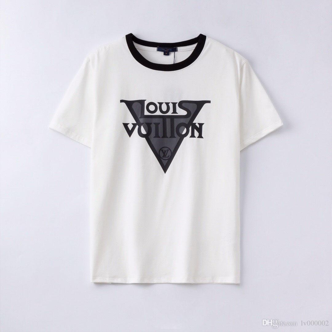 Yeni Yıl yaz yeni erkek tişört markası giyim hiphop sokak tuğrası baskılı tişört, tasarımcı işi erkek tişört # 625326