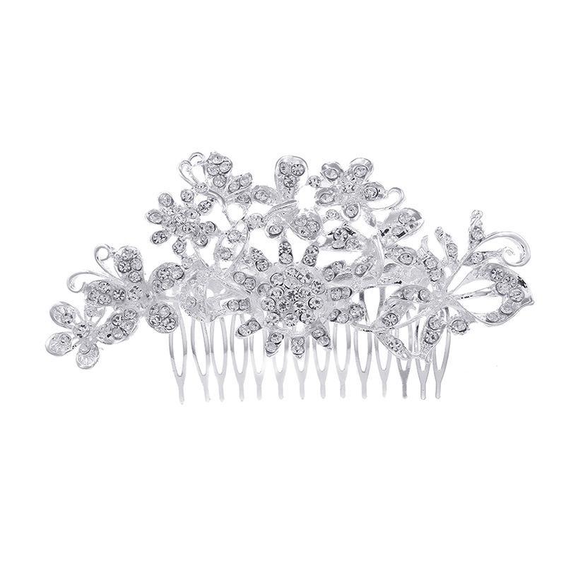 Свадебная вечеринка 13х7см заколки из бисера цветок лист головной убор невесты корона Алмаз головной убор для невесты актерское инициирование выпускной RS-212