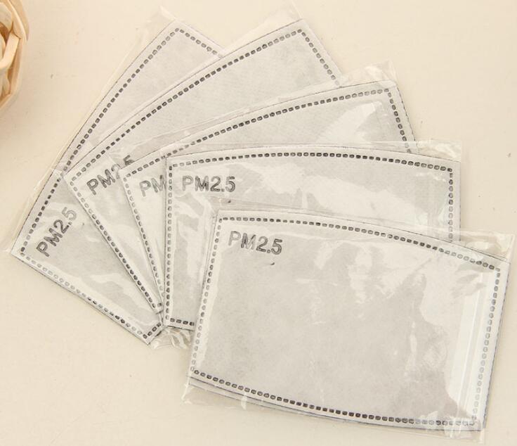 Tcare PM2.5 ورقة الترشيح مكافحة بالضباب الفم قناع مضاد قناع الغبار ورقة الترشيح للرعاية الصحية