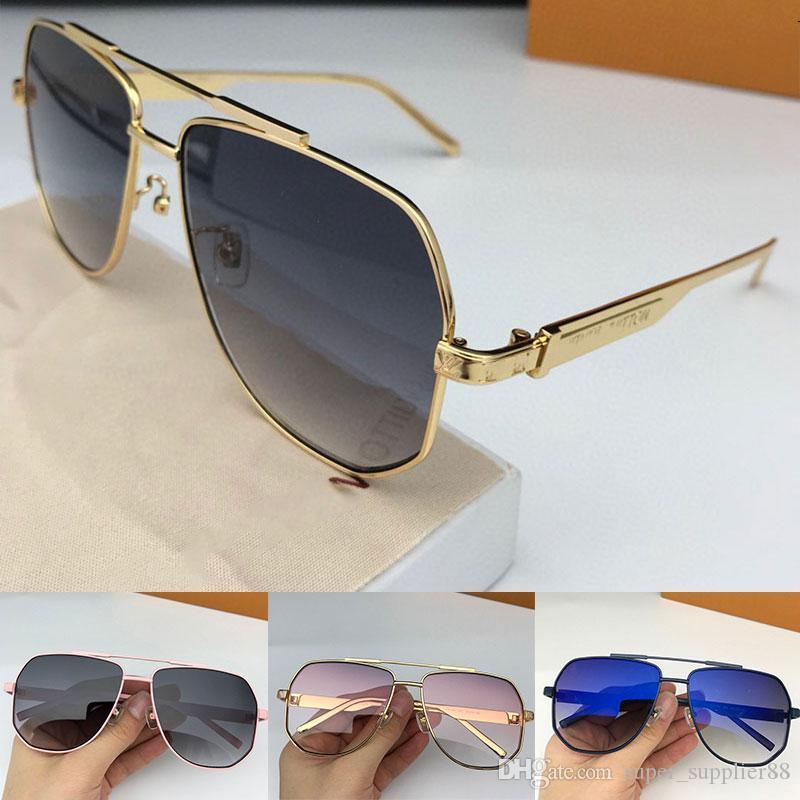 роскошные модные женские дизайнерские солнцезащитные очки ramble 1102 pilot metal frame простой популярный стиль высокое качество UV400 линзы очки