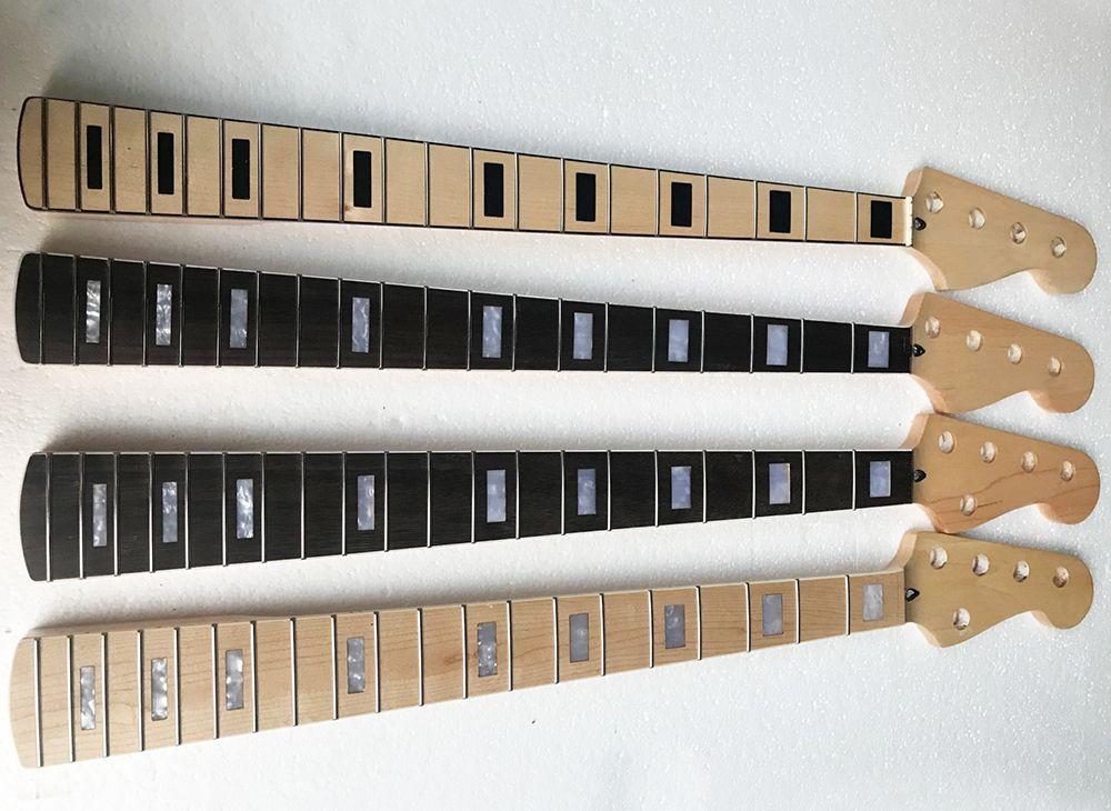 Завод Специальная Продажа 4/5 Струна Electric Bass Neck 20 ладов, Четыре типы, может быть настроена в соответствии с просьбой
