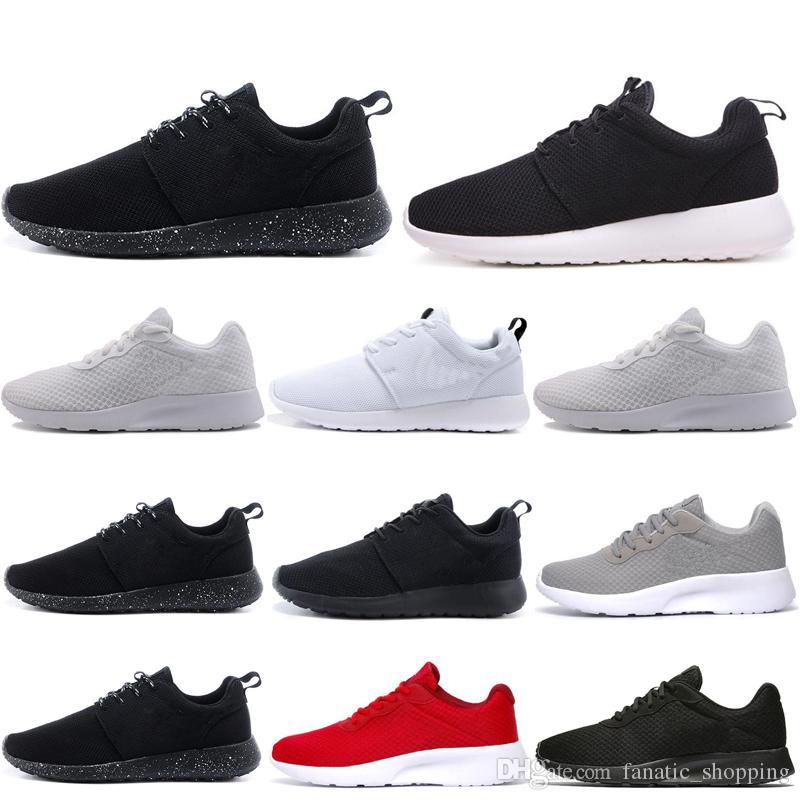 Tanjun Laufen Laufschuhe für Männer Frauen Dreibettzimmer Weiß Schwarz Olympic London Outdoor Herren Trainer Athletic Sports Sneakers 36-45 kostenloser versand