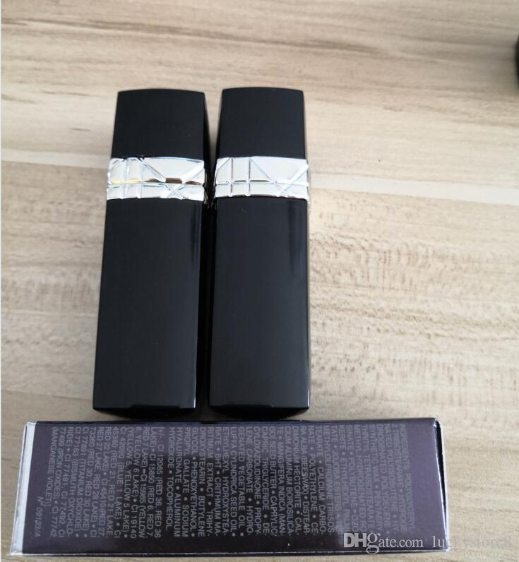 Brand 5 Colors Matte Lipstick 3.5g Red 999 MATTE 888 520 080 028 Red Makeup Lipsticks with Brand Name drop shipping