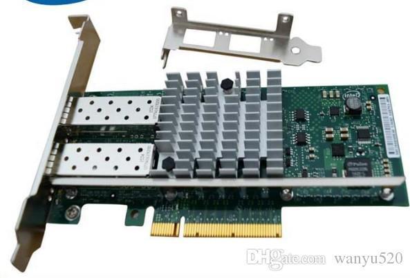 100% Tested Work Perfect for Original INTEL X520-SR2 Ethernet Server Adapter 10Gbps Dual Port PCI-E E10G42BFSR