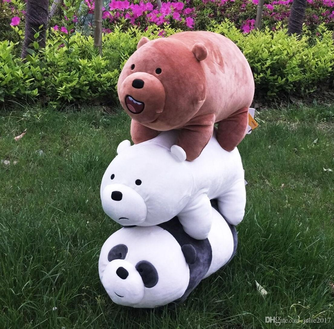 Lovely item We Bare Bears Plush baby Toys dolls Stuffed animals kids Gifts16'' for Christmas gifts