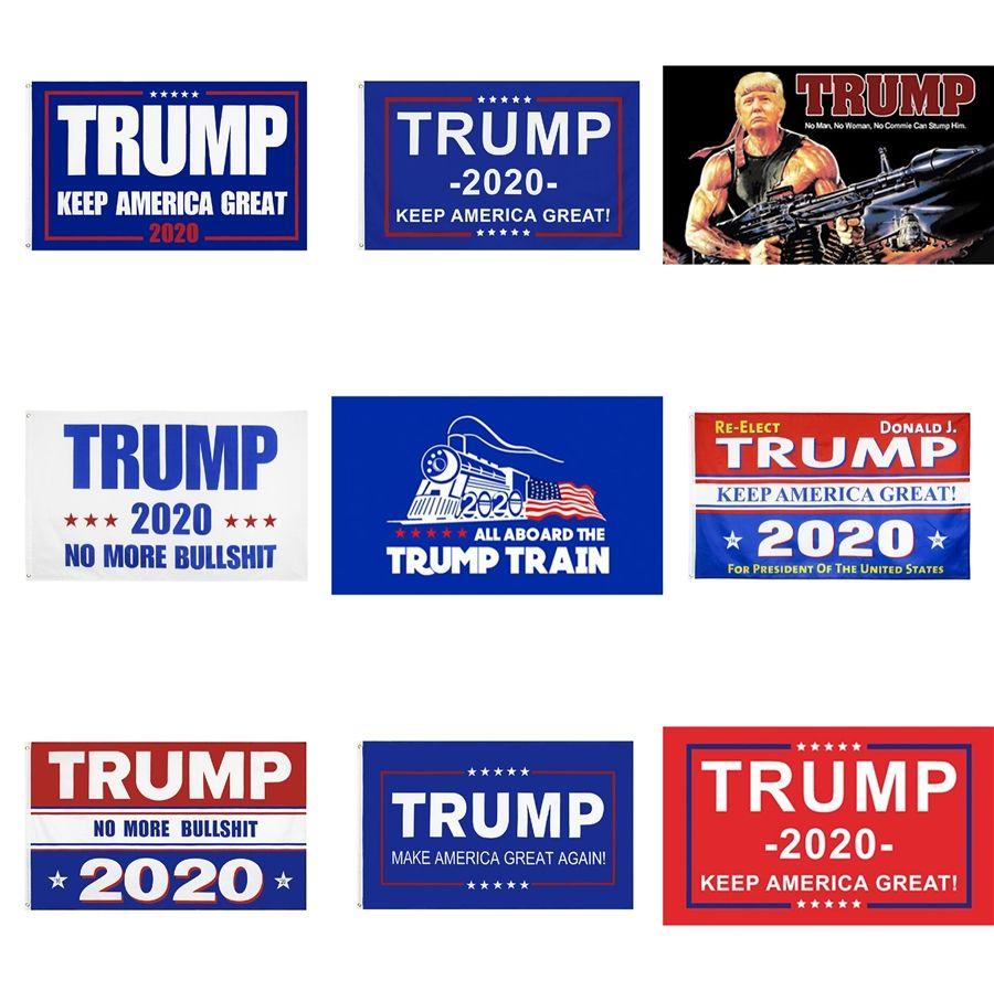 Donald Trump 2020 Flag Kampagne Banner Keep America Great Again For President USA US-Präsidentschaftswahl 2020 Flagge 3 * 5 Fuß # 359