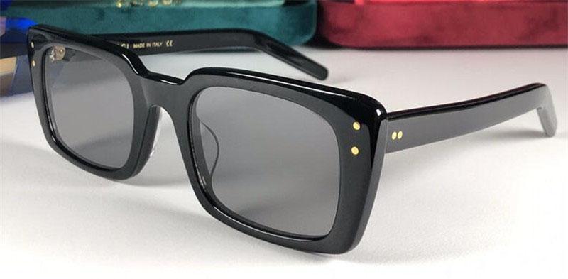 2019 Objektiv Mode Schutz Neue Klassische UV Sonnenbrille Rahmen Top Qualität Square Eyewear 0539 Designer 400 GTVRR