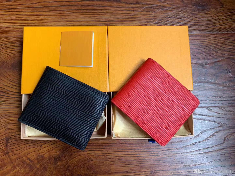 Paris tarzı Designers erkek cüzdan ünlü erkekler lüks çanta özel kutusu ile çoklu kısa küçük bifold cüzdan tuvaline ekose