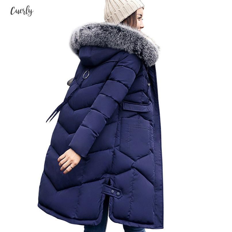 Ladies Winter Jacket Parka Hood Warm Winter Coat Various Colors S-2XL 2501