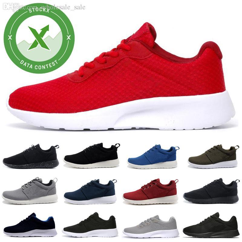 Pas cher Tanjun 3.0 Londres 1.0 Run Chaussures de course pour hommes femmes noir bleu bas légère respirante Chaussures de sport olympique sport entraîneurs des hommes de 36-45