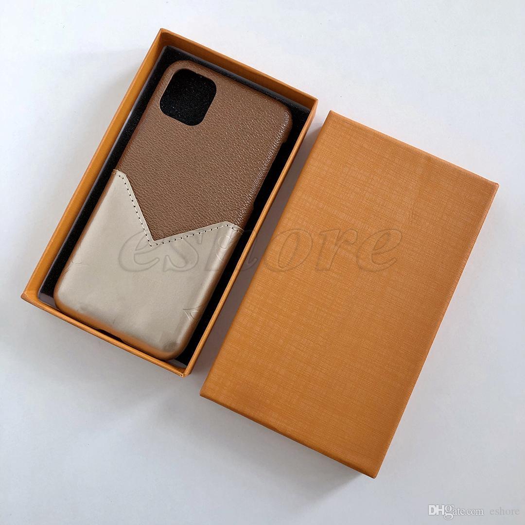 Capa de caixa de cartão de telefone luxuoso TPU Back para iPhone 11 Pro 11pro X Xs Max Xr 8 8plus 7 7plus 6 6s Plus Shell Para Samsung S10 S9 S8 Nota