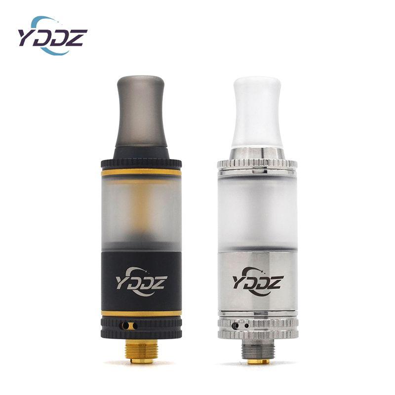 Original YDDZ T1 MTL RTA Atomizer Elektronische E-Zigarette 16mm Durchmesser 2 ml Botton Dual-Airflow Tank für 510 Mechanische Box Mod Vaporizer Kit