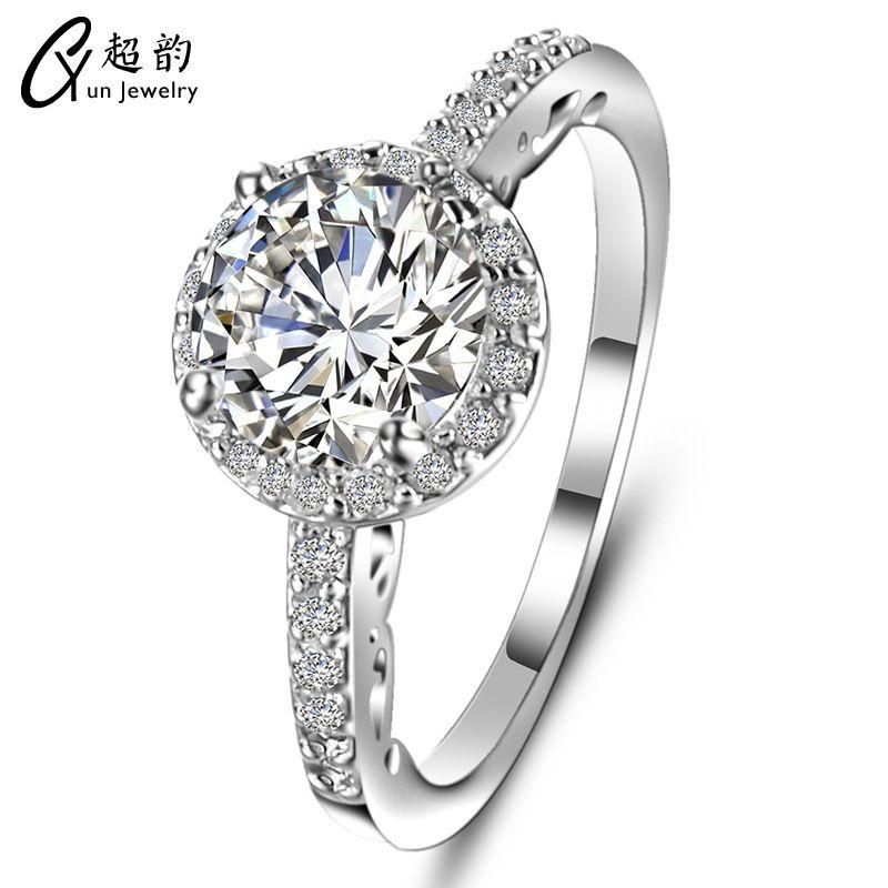 Amantes ornamentos Anel Micro Zircon Fundo Originalidade Decore mãos Sim Ring Ring