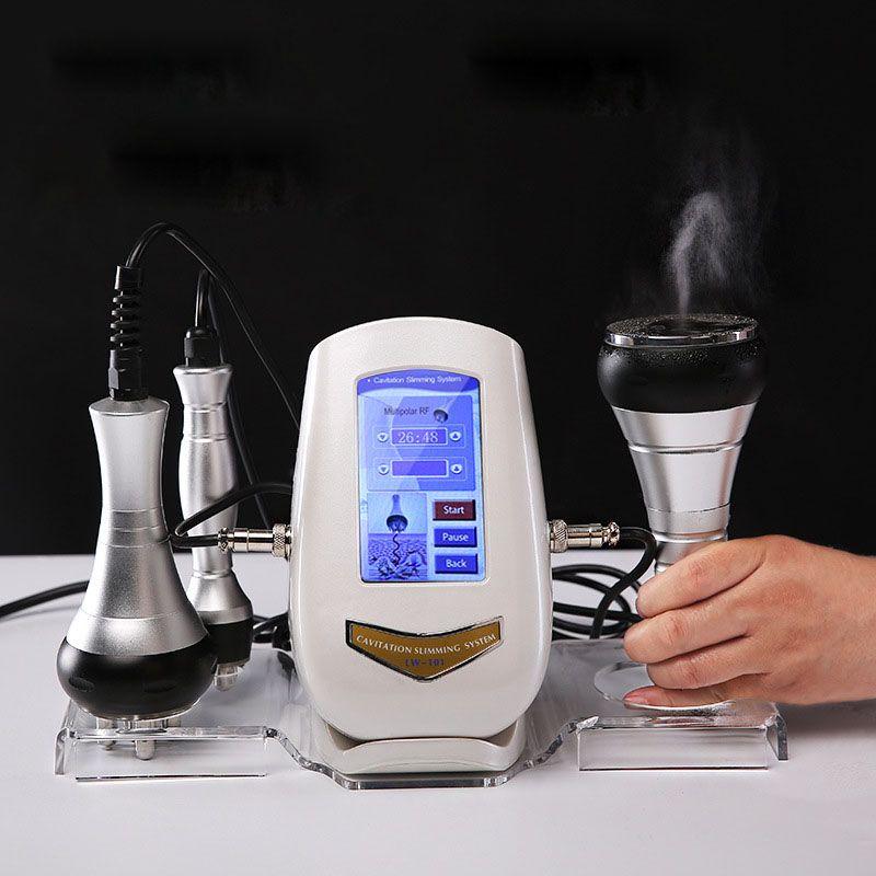 2019 Mais novo !!! Alta qualidade Tripolar Sixpolar Bipolar máquina de vácuo RF 40K Ultrasonic lipoaspiração cavitação emagrecimento máquina CE