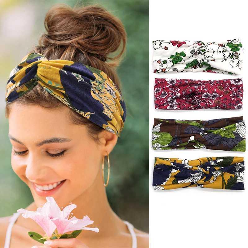 3 pezzi Yoga Hairbands Yoga Pilates Training modello colorato fasce Turbante Lady esterno funzionare Sweatbands Walking
