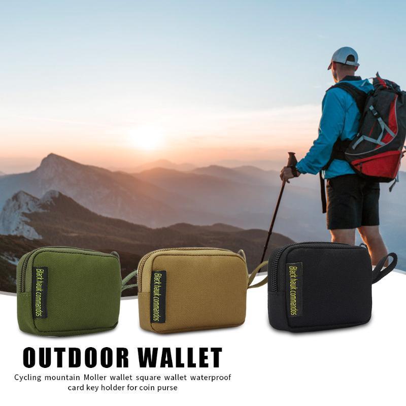 En plein air sportsWaterproof loisirs portable bagMolle Wallet 900D Oxford Zipper poche de téléphone pour la chasse en plein air CampingOutdoor